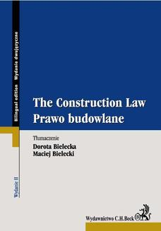 Prawo budowlane. The Construction Law - ebook/pdf