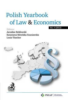 Polish Yearbook of Law and Economics. Vol. 4 (2014) - ebook/pdf