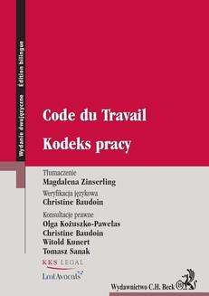 Kodeks pracy. Code du Travail - ebook/pdf