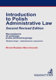 Introducion to Polish Administrative Law - ebook/pdf