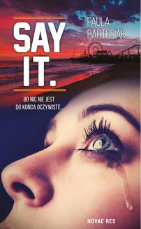 Say it - ebook/epub