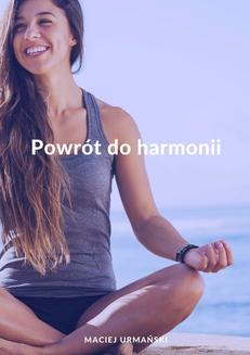 Powrót do harmonii - ebook/epub