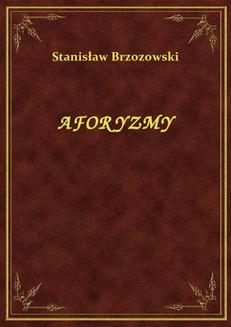 Aforyzmy - ebook/epub