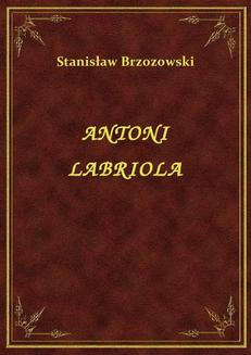 Antoni Labriola - ebook/epub