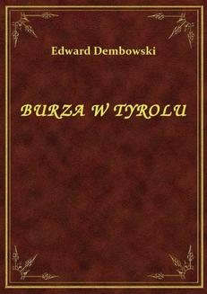 Burza W Tyrolu - ebook/epub