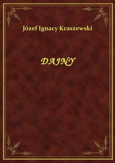 Dajny - ebook/epub