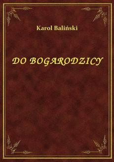 Do Bogarodzicy - ebook/epub
