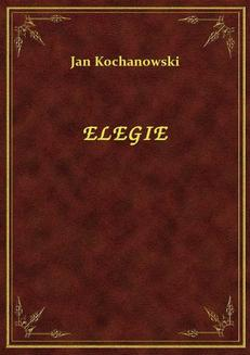 Elegie - ebook/epub