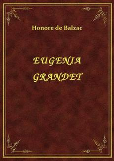 Eugenia Grandet - ebook/epub