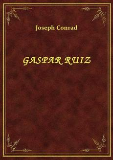Gaspar Ruiz - ebook/epub