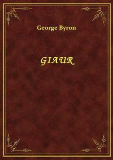 Giaur - ebook/epub