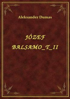 Józef Balsamo T II - ebook/epub
