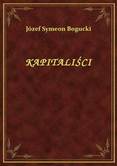Kapitaliści - ebook/epub