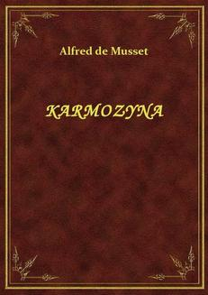 Karmozyna - ebook/epub