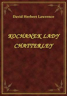 Kochanek Lady Chatterley - ebook/epub