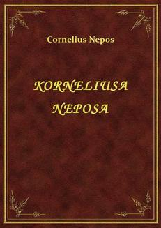 Korneliusa Neposa - ebook/epub