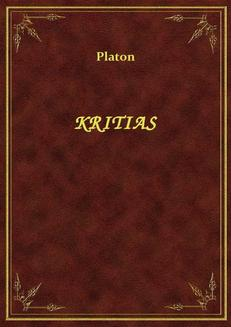 Kritias - ebook/epub