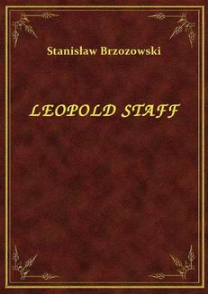 Leopold Staff - ebook/epub
