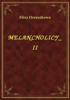 Melancholicy II - ebook/epub