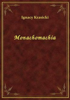Monachomachia - ebook/epub