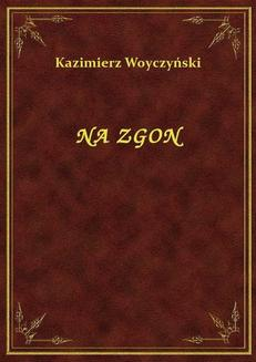 Na Zgon - ebook/epub