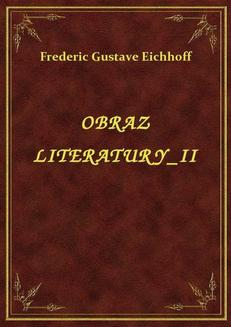 Obraz Literatury II - ebook/epub