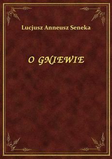 O Gniewie - ebook/epub