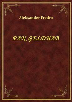 Pan Geldhab - ebook/epub