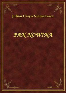 Pan Nowina - ebook/epub