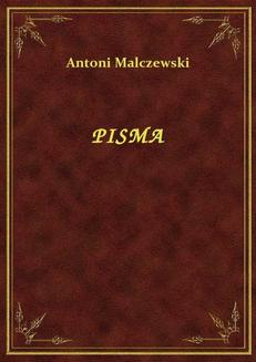 Pisma - ebook/epub
