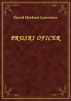Pruski Oficer - ebook/epub