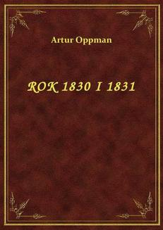 Rok 1830 I 1831 - ebook/epub