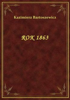 Rok 1863 - ebook/epub