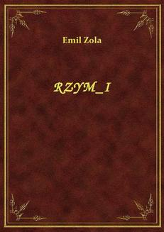 Rzym I - ebook/epub