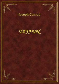 Tajfun - ebook/epub