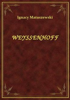 Weyssenhoff - ebook/epub