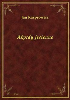 Akordy jesienne - ebook/epub
