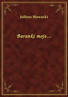 Baranki moje... - ebook/epub