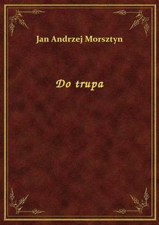 Do trupa - ebook/epub