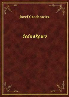 Jednakowo - ebook/epub