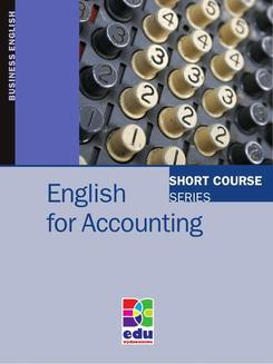 English for Accounting - ebook/pdf